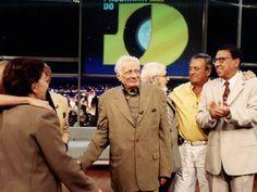 Max Nunes do Programa do Jô, com Agildo Ribeiro e Paulo Silvino (Foto: Zé Paulo Cardeal/TV Globo). RIP