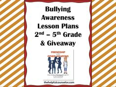 Bullying Prevention Awareness Lessons and a Giveaway! #bullying
