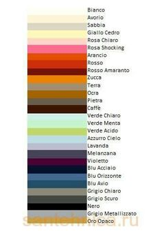 Learning Italian - Colori