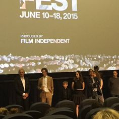 Cast of #Consumed at #LAFilmFest - Victor Garber, director Darryl Wein, Zoe Lister, Griffin Dunne, Danny Glover. #indiefilm #newmovie #losangeles #lalive