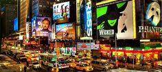 Broadway refers to the theatrical performances presented in the more than 40 professional theaters and other numerous venues beyond the actual street of Broadway in New York City. Some of the most well-known and longest-running productions of all time that celebrated their successes here include The Phantom of the Opera, Les Miserables, The Lion King, and Mamma Mia!, among many others.