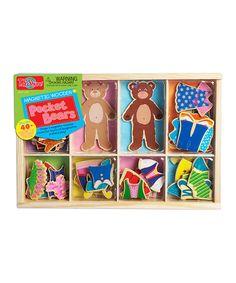Pocket Bears Magnetic Dress-Up Set