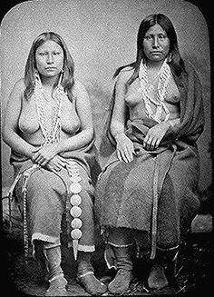 Indian Pictures: Native American Beads and Dress. Wichita Women In Summer Dress