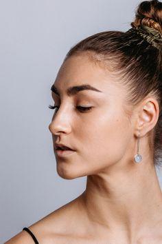 Diamond Earrings, Pearl Earrings, Drop Earrings, Pearls, Jewelry, Fashion, Moda, Pearl Studs, Jewlery