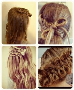 braided 5 DIY Hair Bow hairstyles tutorial Ideas and Creations Collection
