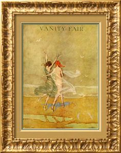 Vanity Fair Cover - September 1918 Poster Print by Warren Davis at the Condé Nast Collection