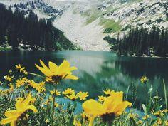expressions-of-nature:  Red Pine Lake, Utah byJAYRAT138