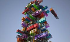 Jenga-Like Hotel – A Radical Innovation | http://www.hashslush.com/jenga-like-hotel-radical-innovation/ | #DESIGN