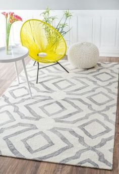 Dip Dyed DD02 Light Grey Rug | Contemporary Rugs #RugsUSA