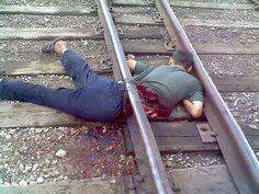 Death by train