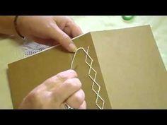 Japanese Stab Binding Tortoise Stitch - YouTube