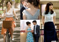 Zooey Deschanel, I reallllllllyy like her style! @Michelle Flynn Flynn You might like her style too. I don't know.. Its just so cute and retro ^_^
