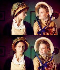 Emma (2009) love the faces...like they're sharing an inside/secret joke