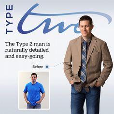 Dressing Your Truth for Men, the Type 2 Man! For more info on DYT for Men go here: https://www.facebook.com/dressingyourtruthformen  and go here to learn more about Dressing Your Truth: http://wendyheeder.dressingyourtruth.com