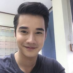 Mario maurer selfie at shooting set