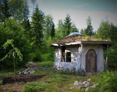 Mud Hut, Farm Projects, Natural Materials, Gazebo, Sweet Home, Outdoor Structures, Vacation, Deco, Building