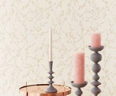 Eijffinger Salisbury Bloemen & Planten Crème - 355052