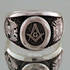Scottish Rite Knights Templar Custom Ring                                                                                                                                                                                 More