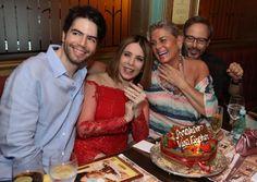 Luiz Fernando Coutinho, Vera Fischer e Liège Monteiro (Foto: Roberto Filho/Brazil News)