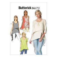 Butterick Pattern B6172 (14-16-18-20-22)
