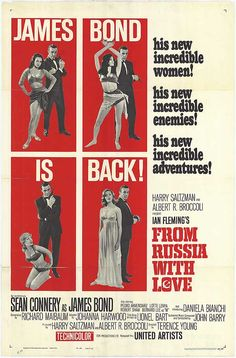"""Rosa Klebb plays a sadistic lesbian in From Russia With Love (1963). Klebb's character is at the service of an ideological statement - the rejection of """"normal"""" sexuality allied with the """"unacceptable"""" political doctrine of communism."""