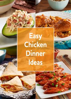 Make a dinner the whole family will love. Try one of our delicious chicken recipes tonight!