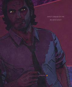 Big Bad Wolf.--> Fables Comics/TWAU  My new obsession