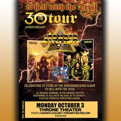 Stryper's+To+Hell+With+The+Devil+30th+Anniversary+Tour+To+Rock+Wilmington,+North+Carolina