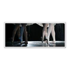 JP London PAN5049 uStrip Dancing Girls Ballet Slippers Tutu High Resolution Peel and Stick Removable Wall Mural