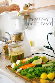 The details of my three day juice cleanse, including why I did it, the recipes, and the struggle.