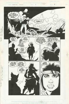 Wolverine: The Jungle Adventure page by Mike Mignola Comic Art