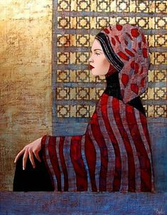 Artist Richard Burlet France, 1957