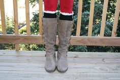 Womens Black Button Knit Boot Socks Cowboy Boot by ColoradoChickCo