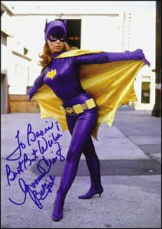 Yvonne Craig as Batgirl, Batman TV series, Yvonne Craig, Batman And Batgirl, Batman 1966, Im Batman, Gotham Batman, Batman Art, Batman Tv Show, Batman Tv Series, Space Ghost