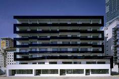 Delugan Meissl Associated Architects. Wienerberg City Lofts, Vienna, Austria