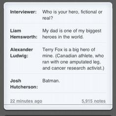 This is why I love Josh Hutcherson.
