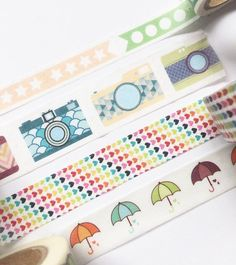 MT Ex Watermelon Washi Masking Tape Summer Fruit Planner Journal Craft Tape