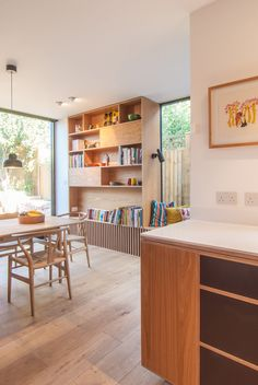 Bespoke-Oak-Joinery-Leytonstone-Glazing-Sliding-Door-Renovation-Kitchen