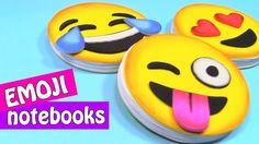 DIY crafts: EMOJI NOTEBOOKS. Very easy! - Innova Crafts