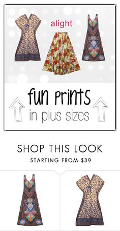 plus size fun prints for summer by alight-com on Polyvore   #alight #plussize #plussizeclothing #plussizefashioin #dresses #skirts #dress #skirt #plussizeskirt #plussizedress #plussizedresses #plussizeskirts #prints #colorful #colors #trend #trendy #cute #summer #summer2016