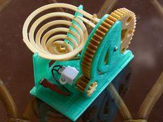 Motorised Marble Machine by Alzibiff - Thingiverse