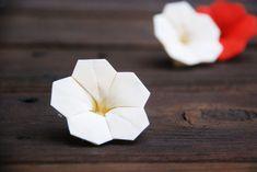 Cream Origami Flowers