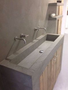 Idea for bathroom furniture and back wall including the fittings Bathroom Inspiration Decor, Bathroom Sink Design, Bathroom Interior, Bathroom Furniture, Restroom Design, Home Room Design, Laundry In Bathroom, Lodge Bathroom, Small Bathroom Remodel
