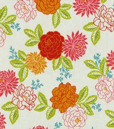 Home Decor Upholstery Fabric-Waverly Cheri / Flamingo: home decor fabric: fabric: Shop | Joann.com