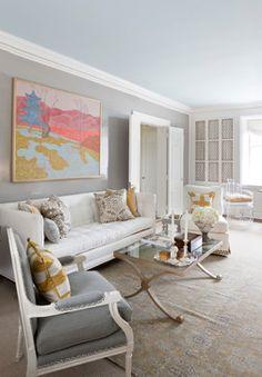 2014 DC Design House - contemporary - living room - dc metro - DC Design House #lgpintowin large scale art