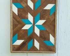 Reclaimed Wood Wall Art Lath Art Gift Ideas by PastReclaimed
