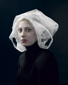 Classic Portraits Recreated With Everyday Objects by Hendrik Kerstens