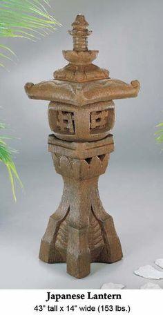Garden Fountains: Japanese Lantern
