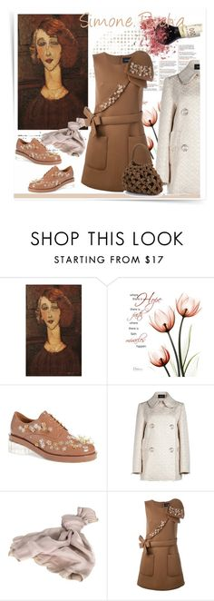"""""""April 10"""" by anny951 ❤ liked on Polyvore featuring See by Chloé, Simone Rocha and Valentino"""