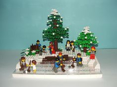 Lego Christmas: 2006 - curling1 | Flickr - Photo Sharing!